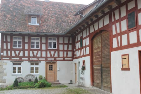 historic half-timber building - Appartement