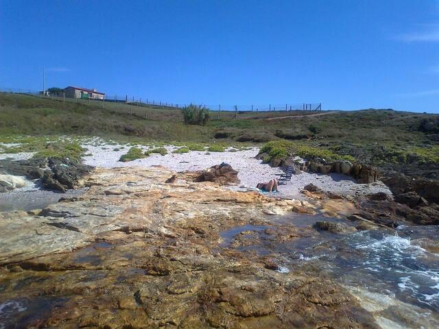 Xeitosiña vista desde las rocas