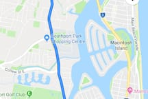 Falconer st Southport to surfers paradise.