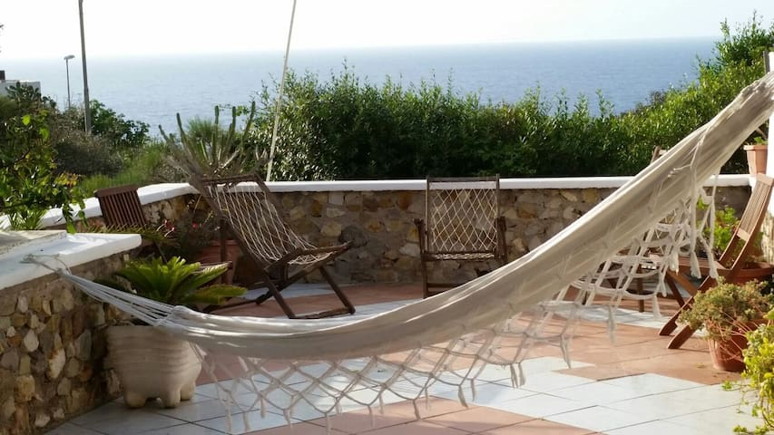 Casa con terrazza vista mare - Ponza - Rumah