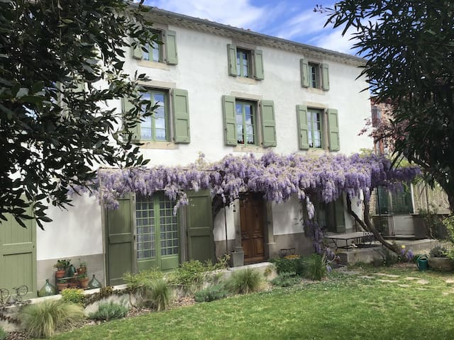 Beautiful Master House near Carcassonne