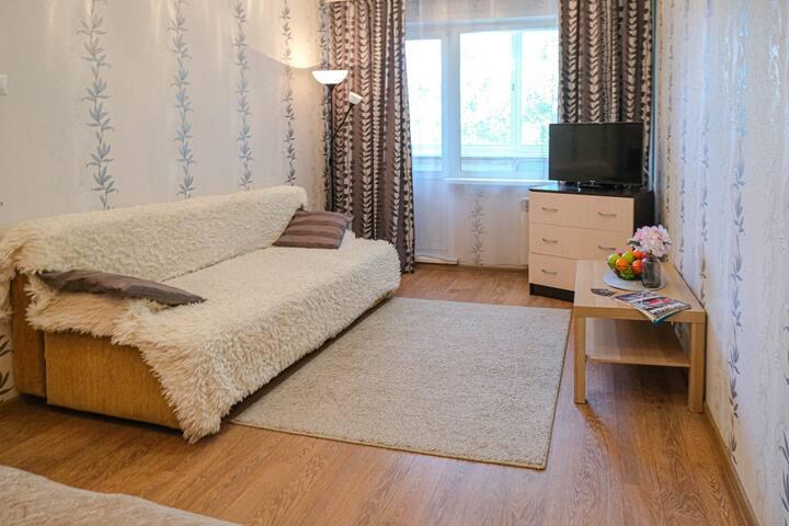 """Апартаменты с приятным дизайном класс """"комфорт"""""""