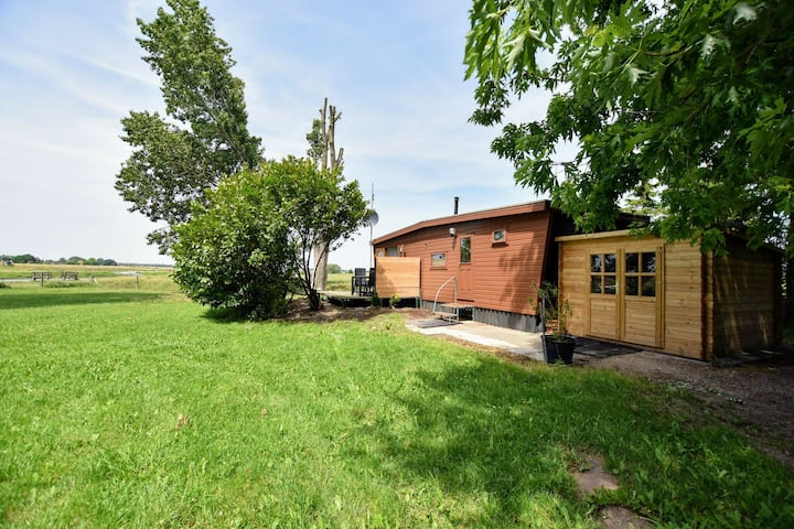 Boutique Chalet in Pannerden with Terrace