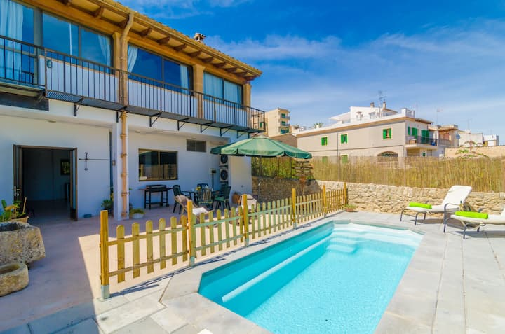 CA NANTONIA COSTA - Villa with private pool in Montuiri. Free WiFi