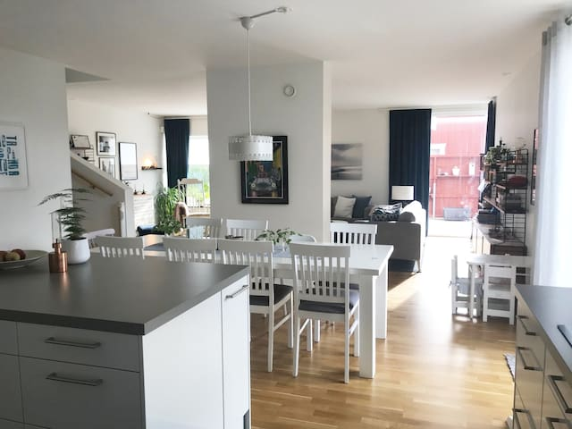 Nice and family friendly villa close to Gothenburg