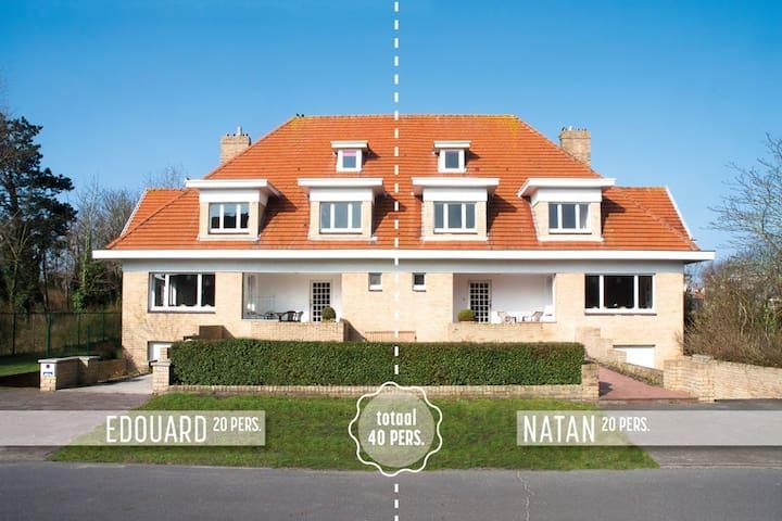 Villa, 200m naar strand,20 personen - Nieuwpoort - Huis