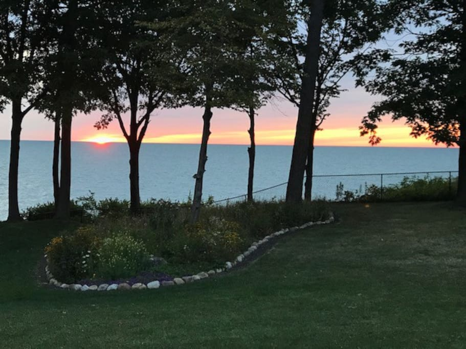 Majestic sunsets every night—best view at Edgewater!