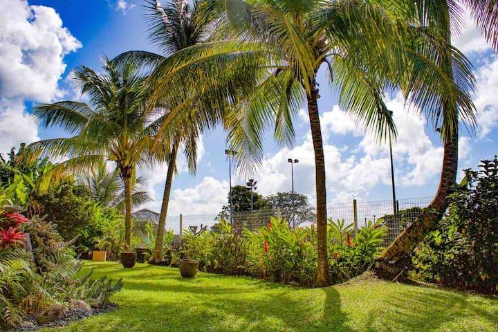 Grand Bas de Villa dans un coin de paradis