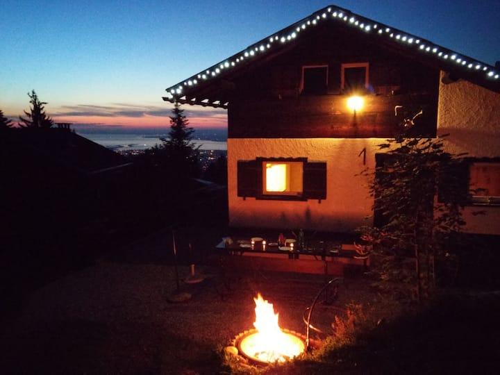 Hütte, Berghütte, Skihütte