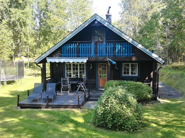 Naturnahes familienfreundliches Ferienhaus + Sauna