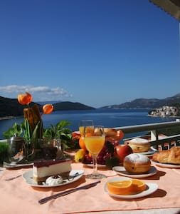 Nice mediteran villa with pool - Neum - Casa de camp