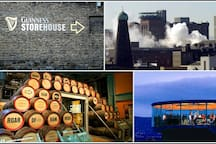 Guinness Storehouse - 12 minute walk