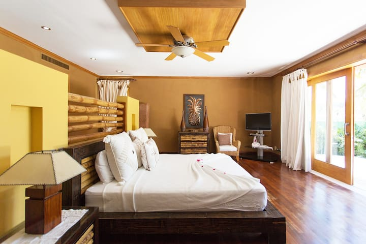 Spacious bedroom with everything you need for your comfortable sleep