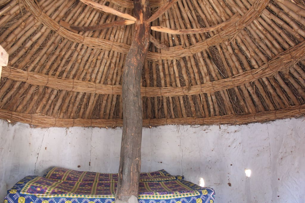 Interior of the Huts