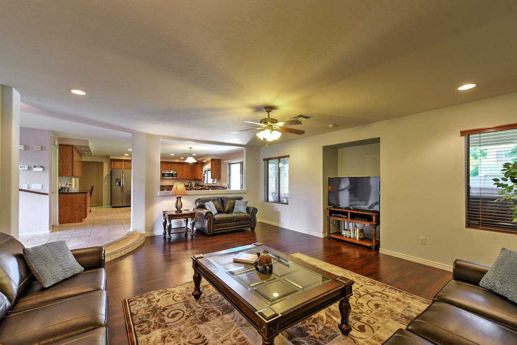 This Arizona home boasts 4,200 square feet of beautifully appointed living space.