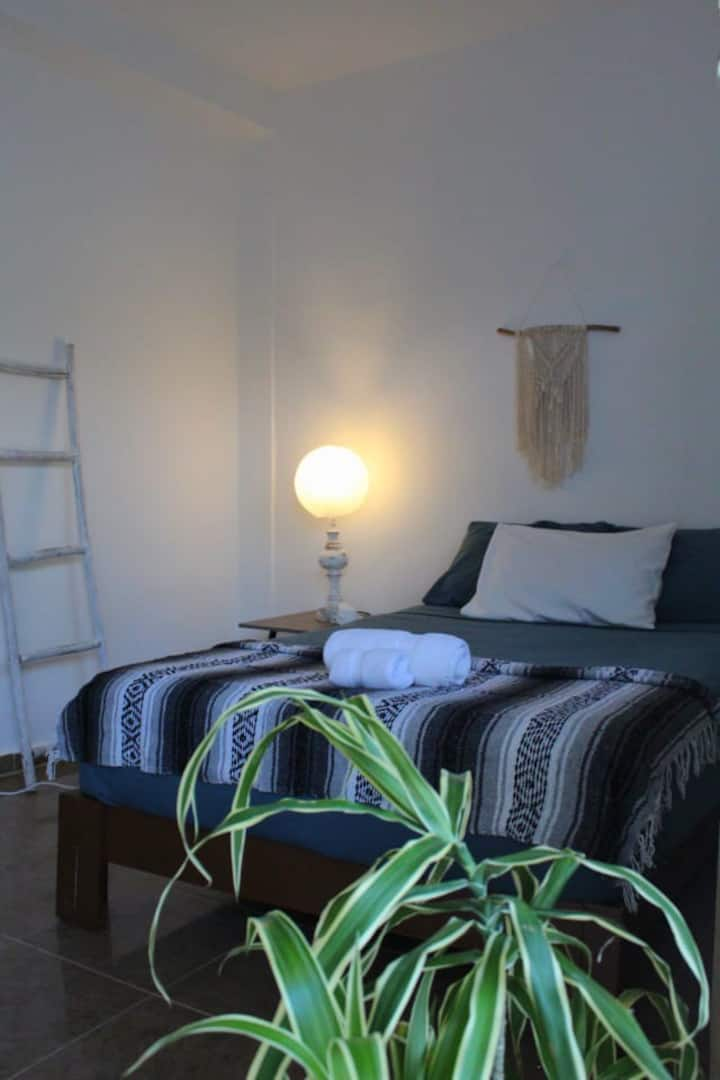 Relax and recharge in Holbox/ WiFi/central