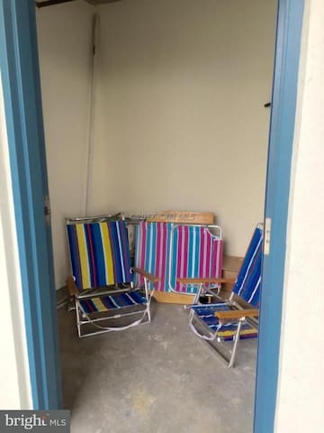 Storage for your beach stuff