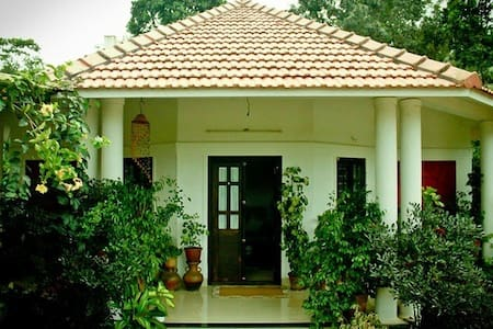 Green Leaves Habitat Wayanad, comfortable homestay - Sultan Bathery - Dům