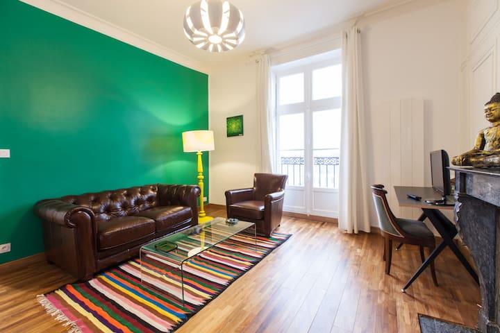 Bel appartement au coeur de Rennes (Place Mairie) - Rennes - Flat