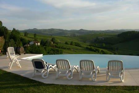 Cascina Christiana: farm and fun - Nizza Monferrato - Aamiaismajoitus