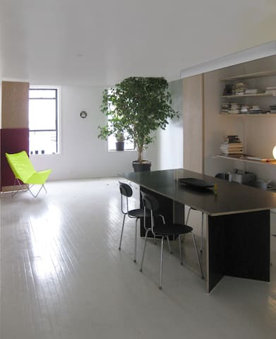 White Box Loft with private room - Nueva York - Loft