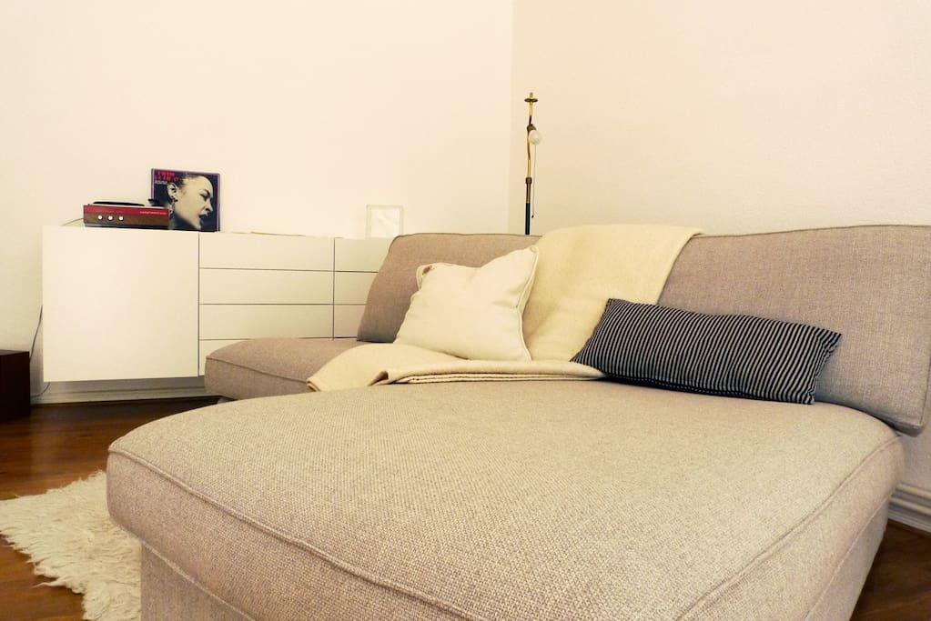 Wohnzimmer, Couch.