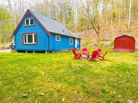 Modern Catskills Cabin