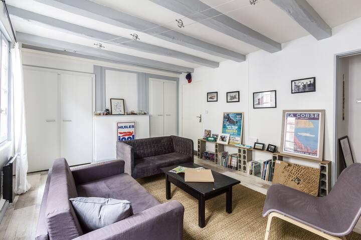 Loft en centre historique - Vannes - Apartment