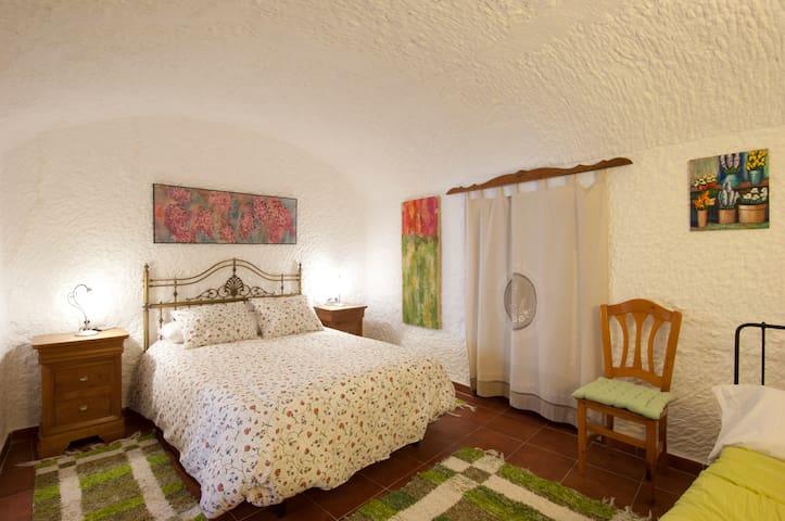 Cave House near Granada. 6-8 pax - Graena - Maan sisään rakennettu talo