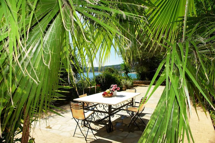 Corfu Villa Kalisti with sea view  - Barbati Corfu - House