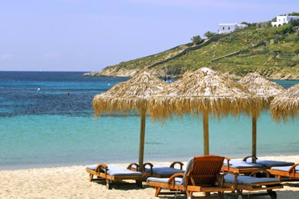 Relaxing at the beach, enjoy crystal clear waters and golden sands.