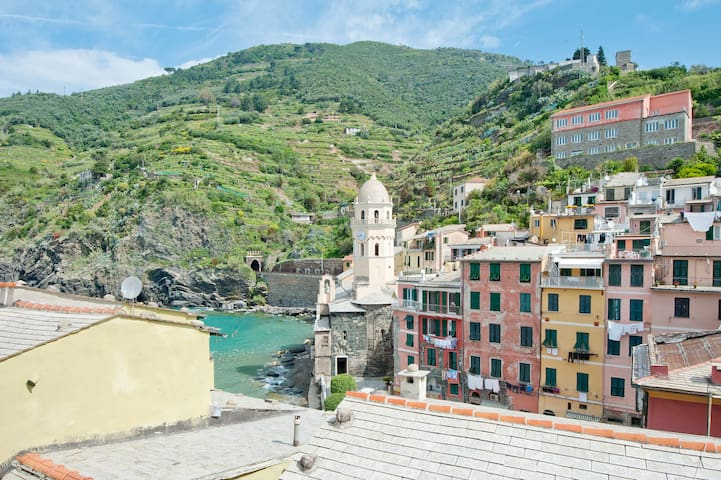 Breathtaking  sea view apartment  - Vernazza - Wohnung