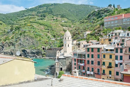 Breathtaking  sea view apartment  - Vernazza - Apartament