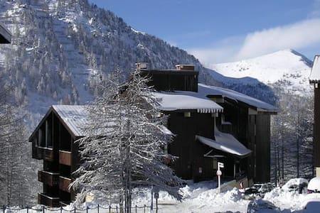 Studio 4P Isola 2000 skis aux pieds - Isola - Apartemen