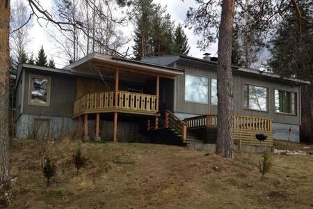 House on the lake, panoramic view - Rautjärvi - Haus