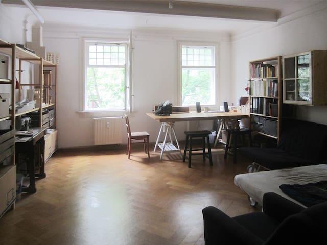 Schönes großes Zimmer in Weimars Fußgängerzone - Weimar - Byt
