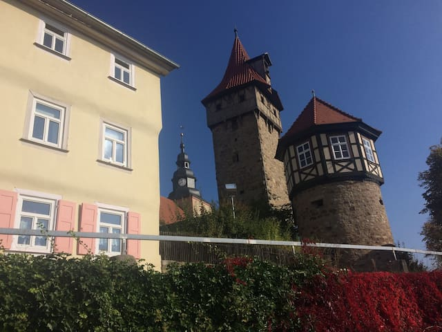 Castle home with a view! - Ostheim vor der Rhön