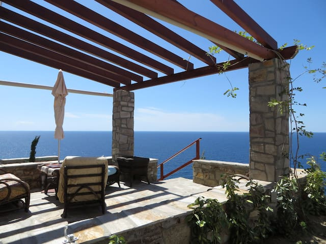 Beautiful SeaView Villa- Armenistis - Ikaria - Villa