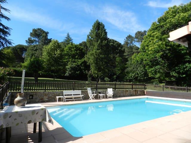 Nice flat in Cevennes for 4 p  - Saint-Jean-du-Gard - Apartamento