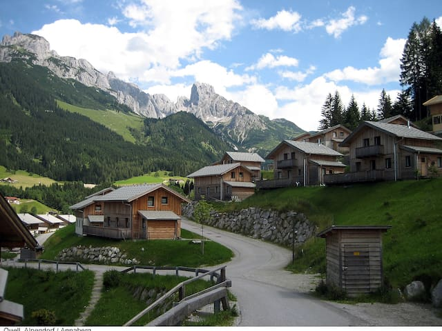 Chalet Alpenrose für 8 Personen