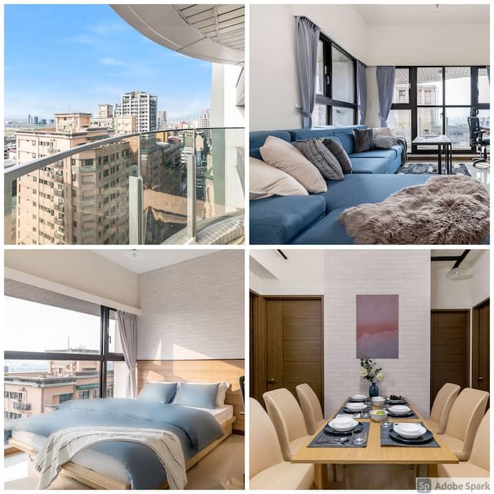 High Floor New Bldg | 5★ Ximending, Stunning Views