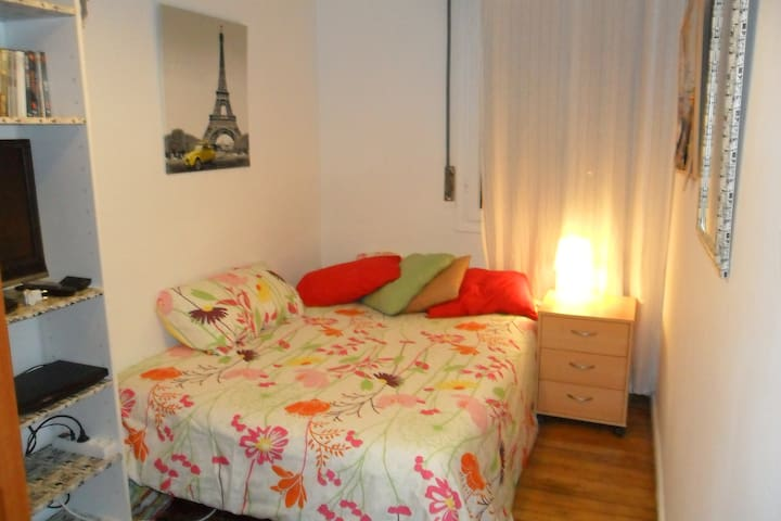 Spring room in Bilbao with wifi - Bilbao - Apartment