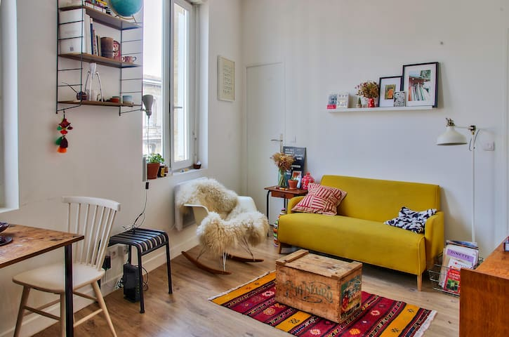 Cozy apartment for 2 people near St Jean Station