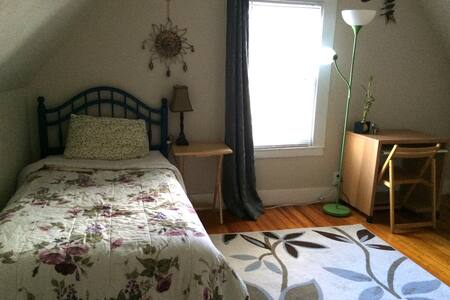 Private Room,35 mins drive 2 boston - Lawrence - Huis