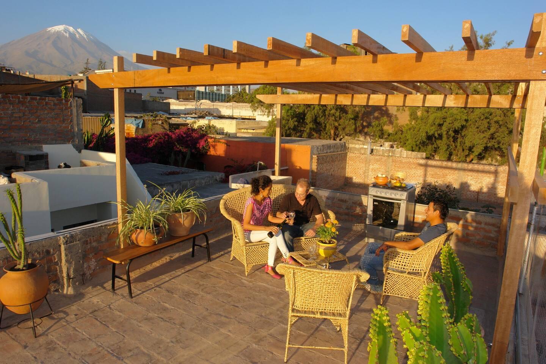 Amazing terrace & views!-Arequipa 1