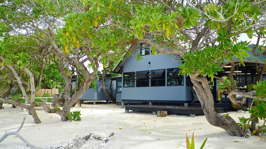 The Beach House - Moorea Island  - Temae - Casa