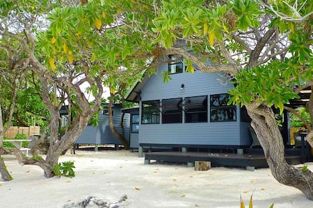The Beach House - Moorea Island  - Temae - Ev