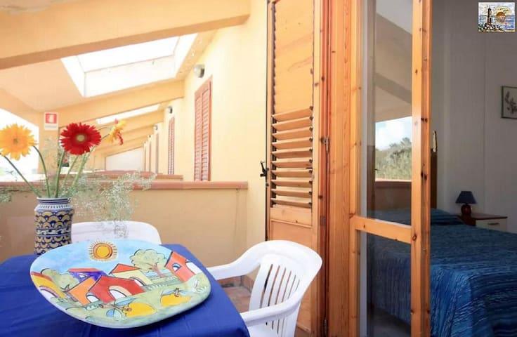 Case Vacanza Cadoro,Wifi,190mt mare - Sciacca - Byt