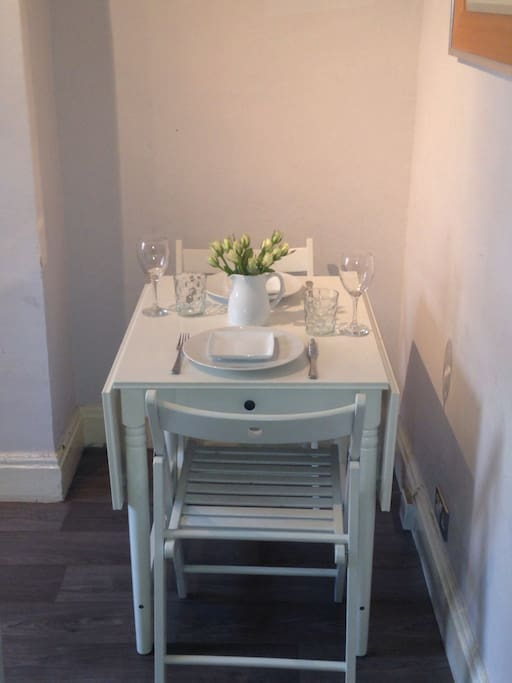 Small cosy dining area