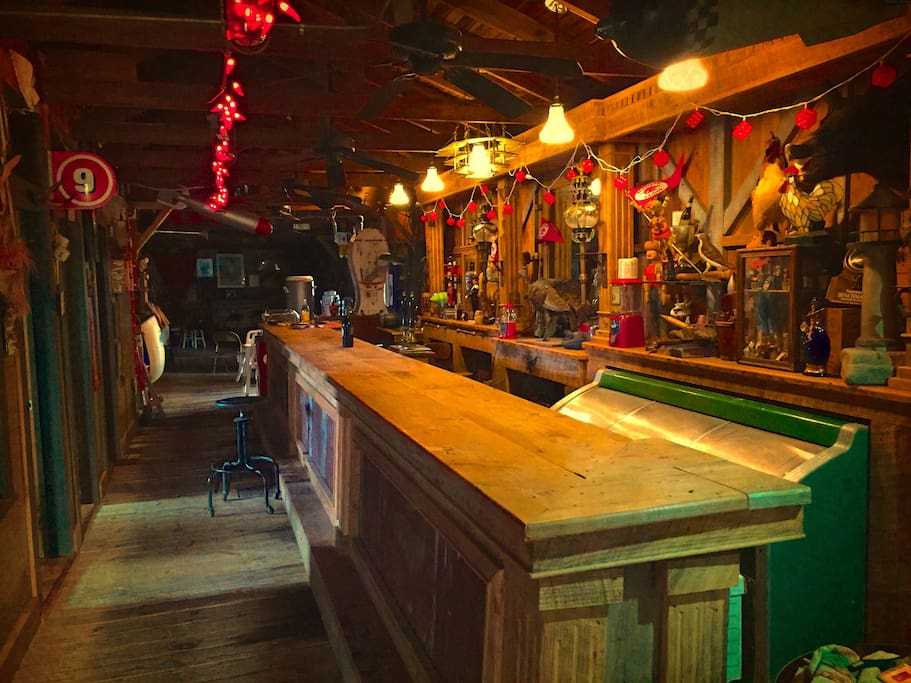 """And the """"The Whirlybird"""" bar is a sight for sore eyes"""